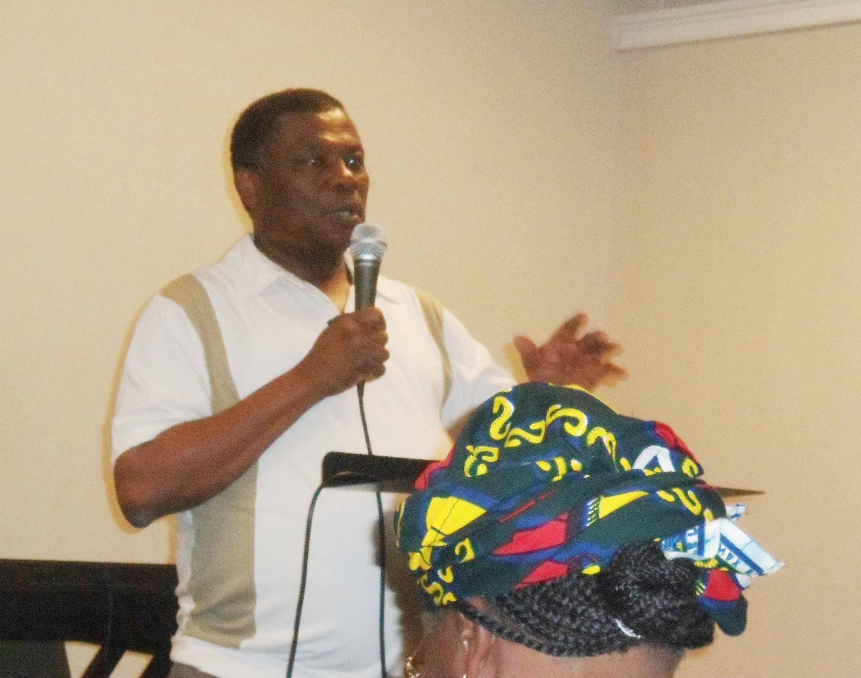 Rev. Innocent Nwaobasi, Chairman, ECWA Local Organizing Committee