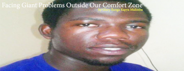 Permalink to:Facing Giant Problems Outside Our Comfort Zone