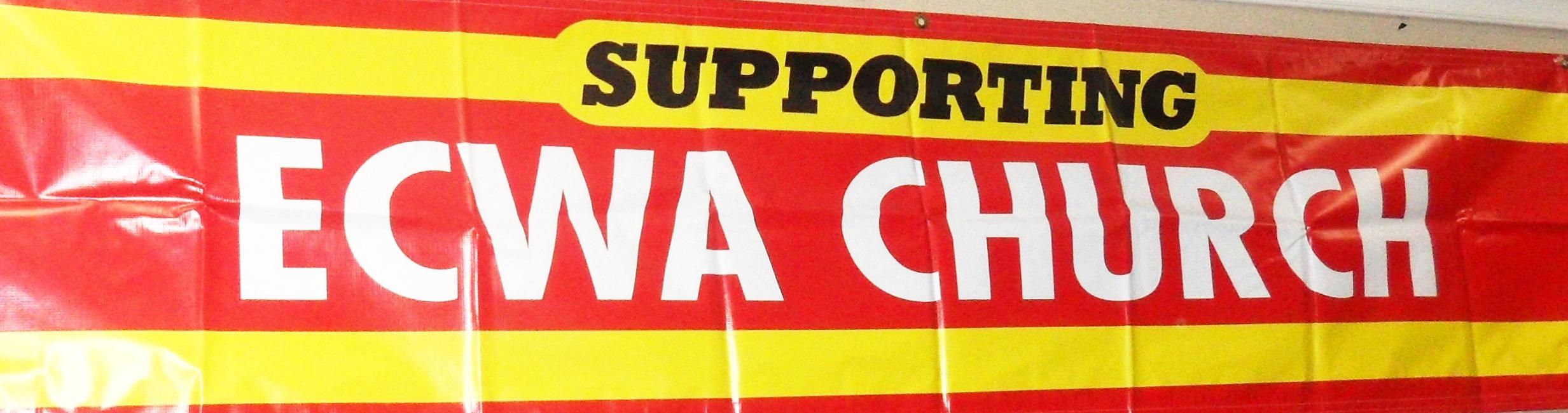 Supporting ECWA Church