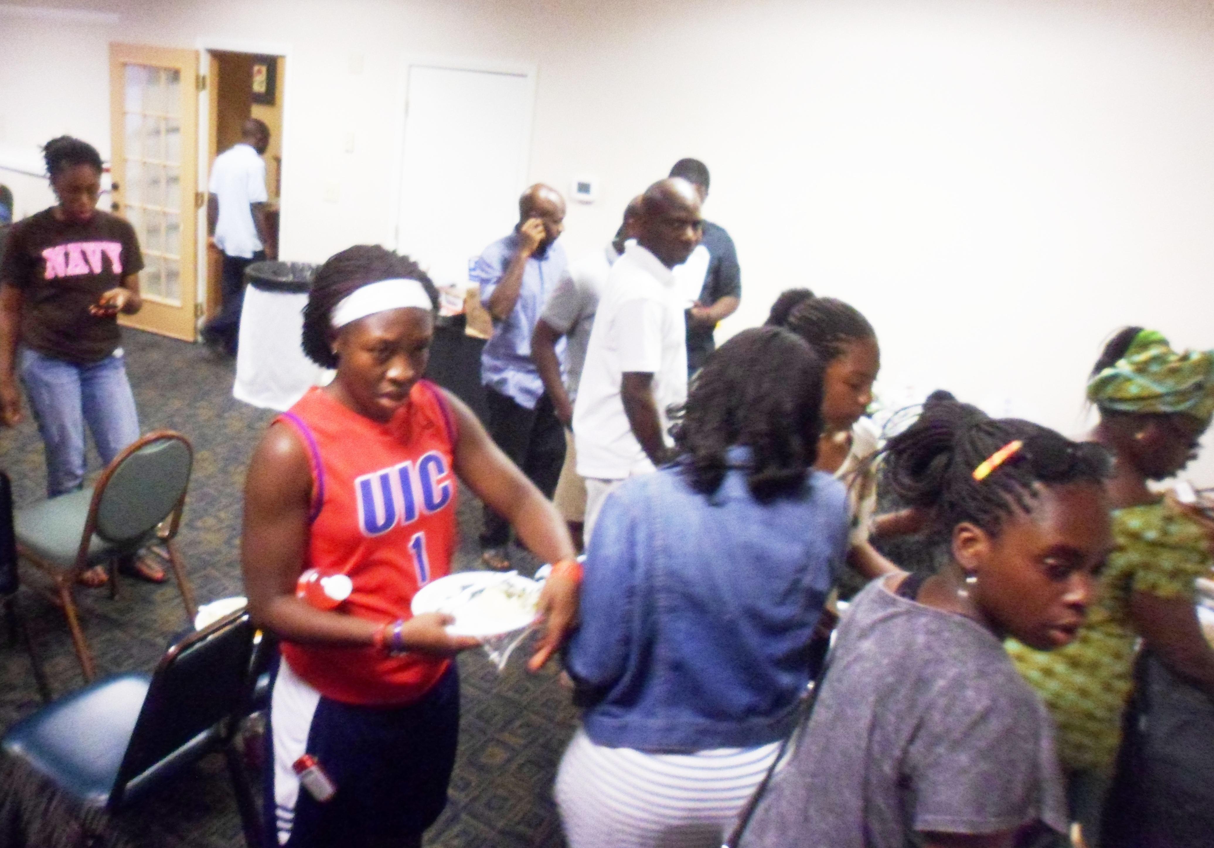 ECWA Atlanta in line for dinner