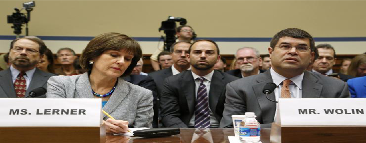 IRS Tea Party Lois Lerner Investigation - No Charges By Department Of Justice