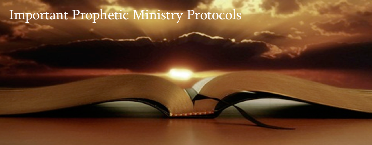 10 important prophetic ministry protocols evangelical church