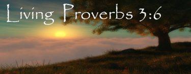 Living Proverbs 3:6