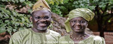 Joshua and Joanna Bogunjoko