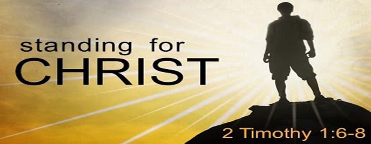 Standing for Christ