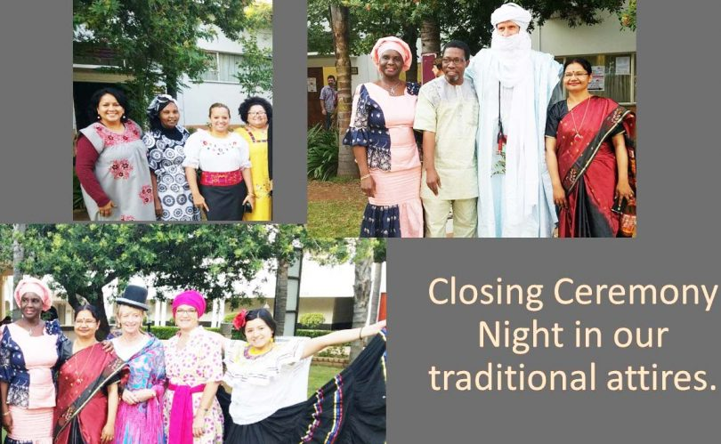 Closing Ceremony Night in Our Traditional Attires