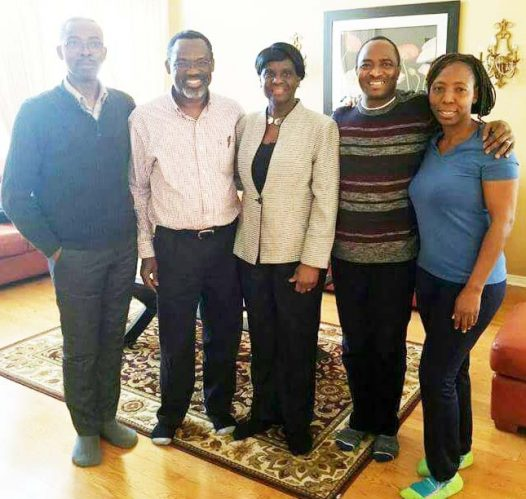 Dr. Motunrayo Adetola and the Egbeyemis