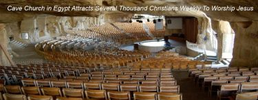 Cave Church in Egypt Attracts Several Thousand Christians Weekly To Worship Jesus