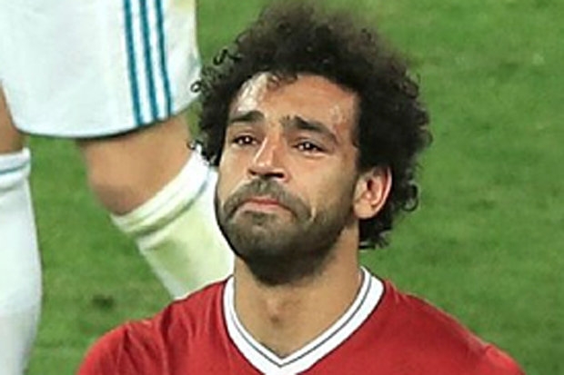 MOHAMED SALAH: Liverpool fans were left in tears at the star's tragic injury at the final