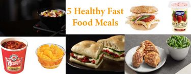 5 Healthy Fast Food Meals