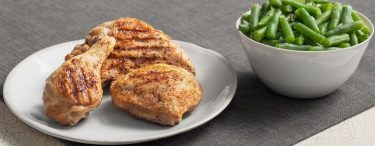 Grilled Chicken Breast with Green Beans (KFC)