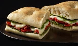 Roasted Vegetable Panini (Starbucks)