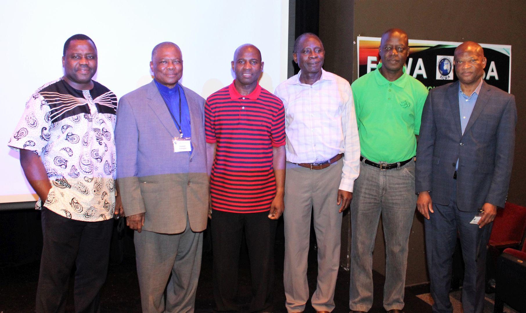 ECWA USA DCC Executive Members.