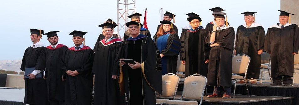 Faculty During Graduation Ceremony