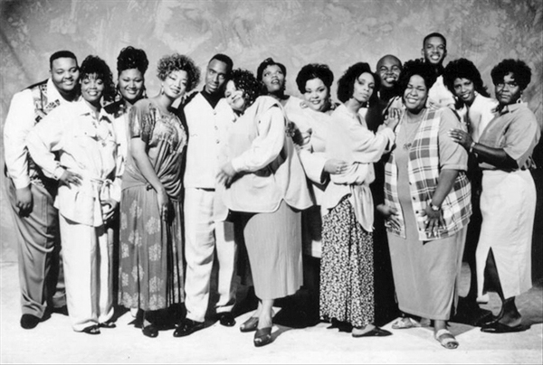 Some Gospel Musicians to Check Out (image: Kirk Franklin and the Family)