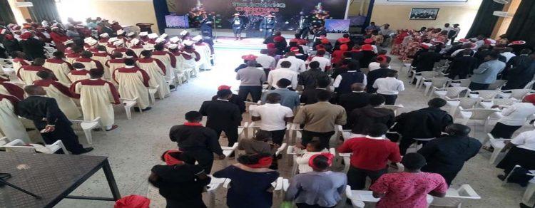 The ECWA Headquarter Christmas Carol (image, Romanus Ebenwokodi (Okwute)
