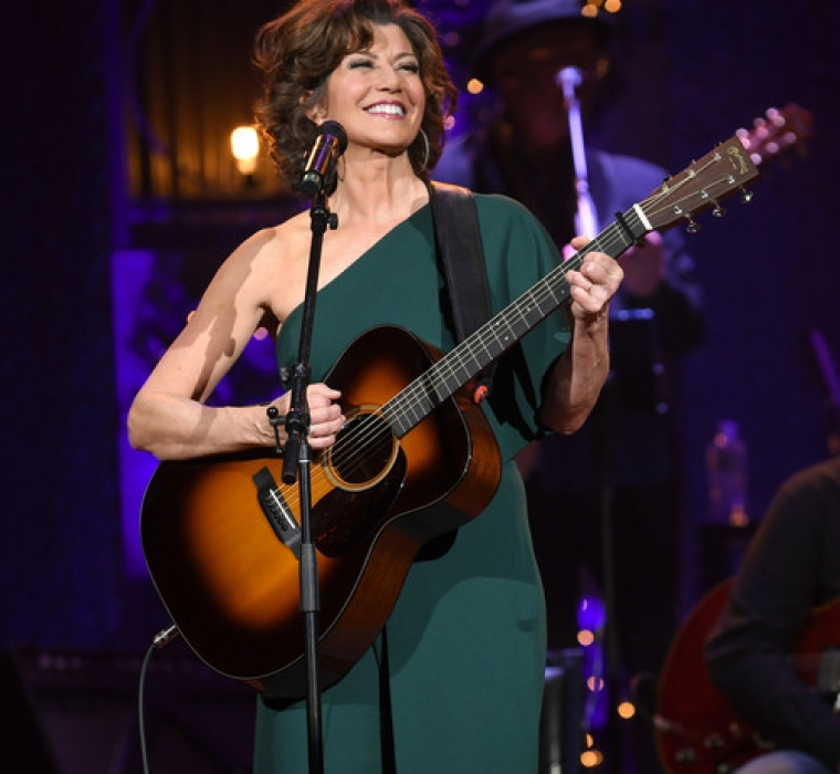 Amy Grant And Vince Gill - Christmas At The Ryman - Amy Grant performs at the Ryman Auditorium on November 28, 2018 in Nashville, Tennessee