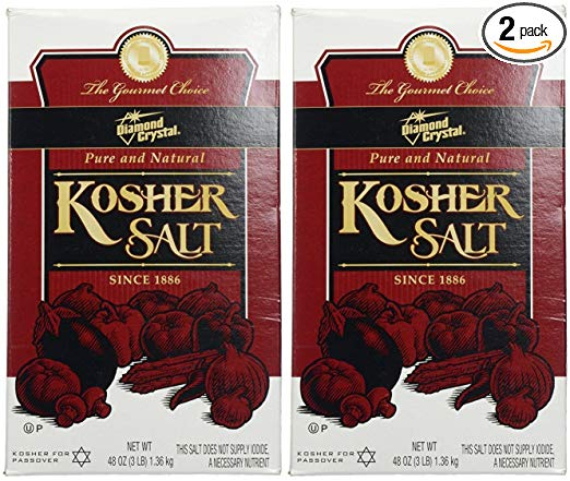 Diamond Crystal® Kosher Salt.