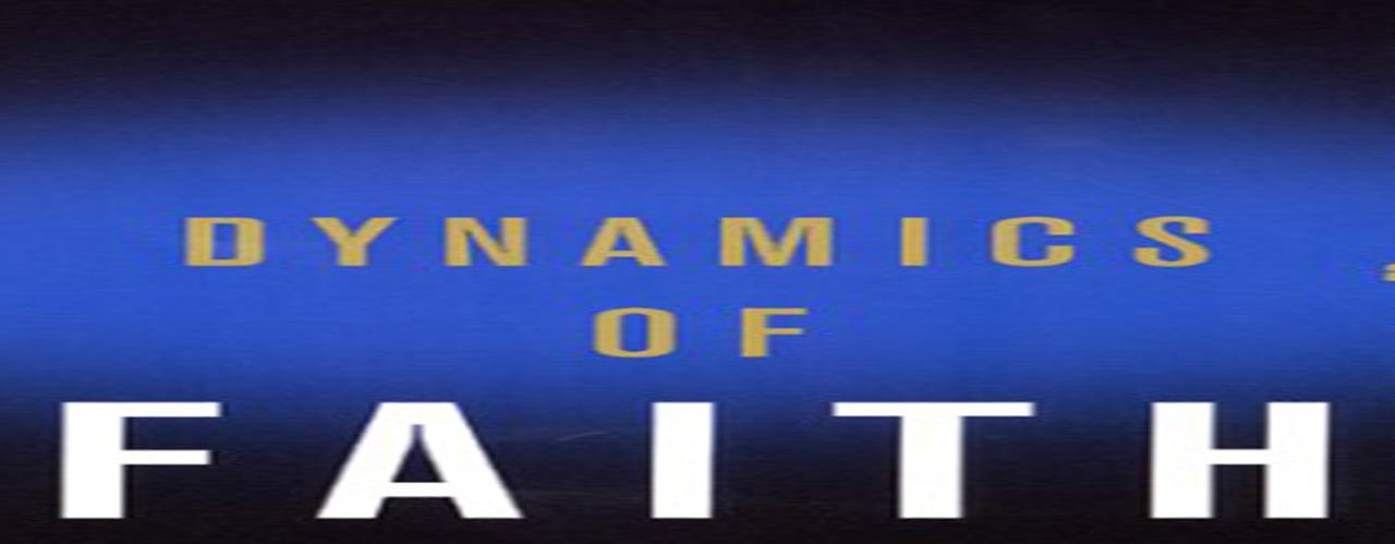 Dynamics of Faith by Paul Tillich