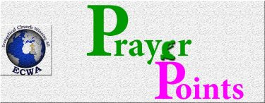 Prayer Points: Jesus is Here Right Now