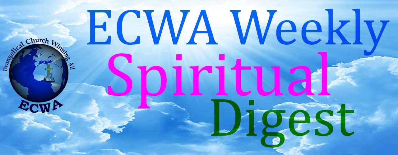 ECWA Weekly Spiritual Digest