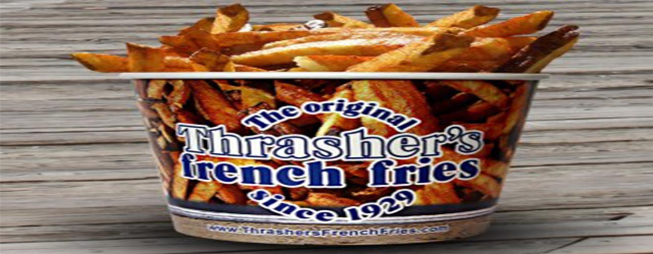 Nobody Does French Fries Like Thrasher's in Ocean City, Maryland
