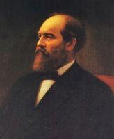 20. James A. Garfield