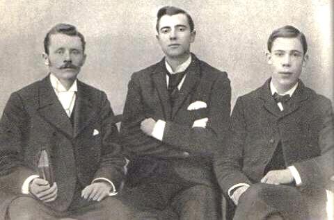 ECWA Founders: Walter Gowans (23) Thomas Kent (25) Rowland Bingham (21)