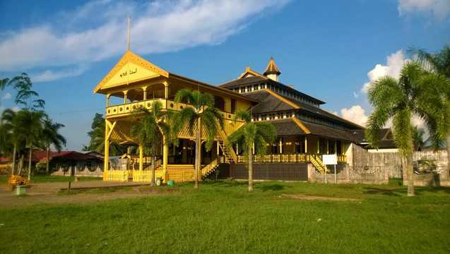 Istana Kadriah, Kesultanan Islam Cikal Bakal Pontianak (Image- istimewa)