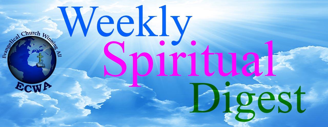 Weekly Spiritual Digest