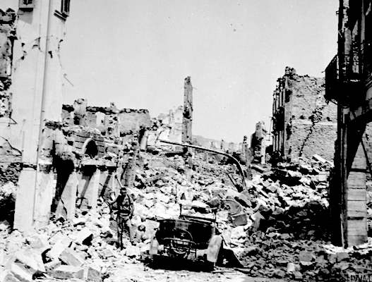 The 7.2 Richter earthquake that decimated both Zakynthos Island and neighbouring Kefalonia in August 1953.