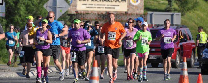 The Anchorage Mayor's Marathon by Roy Neese.