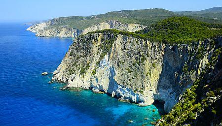 Greece, Zakynthos Island, coast on Cape Keri.