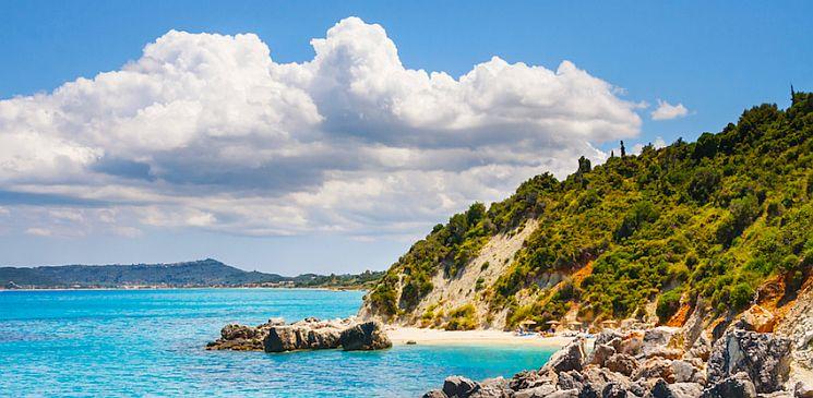Xygia Beach, Zakynthos Island, Greece.