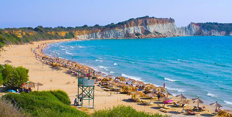 Gerakas beach on Zakynthos island, Greece.