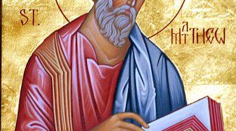 Apostle and Evangelist Matthew.