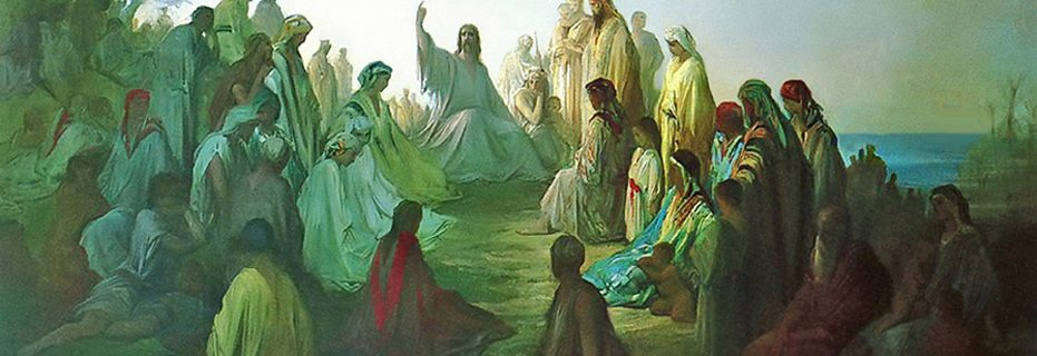 Jesus Preaching the Sermon on the Mount (Image by Gustave Dore).