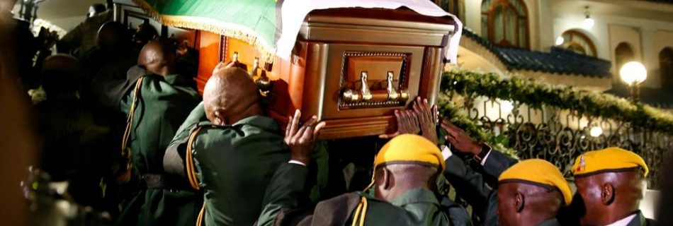 Zimbabwe's founding president Roberty Mugabe will be buried on on Sunday, September 15, 2019.