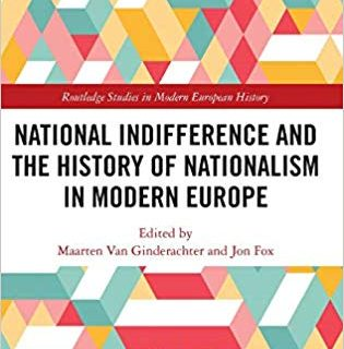 National indifference and the History of Nationalism in Modern Europe.