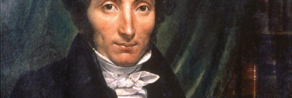 Rene Caillie portrait by Amélie Legrand de Saint-Aubin