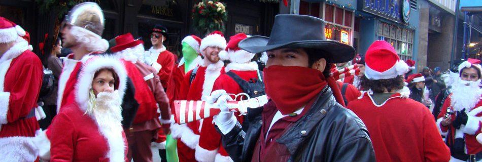 Santa bandit (Image Wikimedia Commons)
