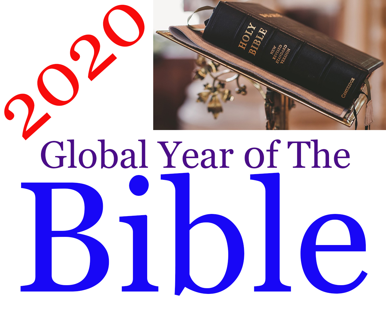 2020 Global Year 0f The Bible- How Are We Doing