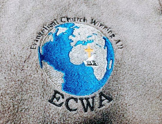 Logo on ECWA Fleece Jacket