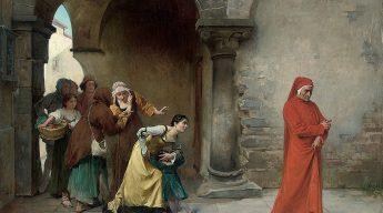 Dante in Verona (Image by Antonio Cotti)