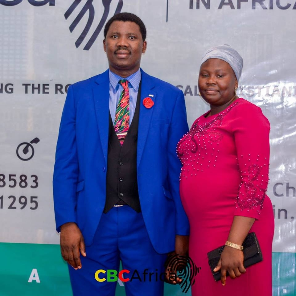 Rev. Dr. and Mrs. Moses Owojaiye