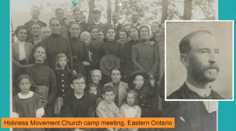 Holliness Church Camp Meeting in Eastern Ontario