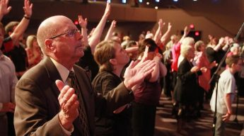 Pentecostal revival sweeps parts of West Coast. (Image by Deseret News)