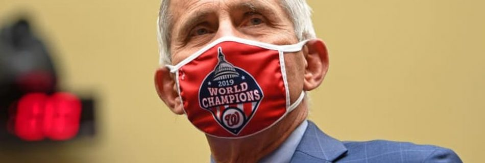Dr. Anthony Fauci, director of the National Institute for Allergy and Infectious Diseases, arrives to testify before the House Select Subcommittee on the Coronavirus Crisis hearing in Washington, D.C., July 31, 2020. (Image by Kevin Dietsch/Pool/Reuters)