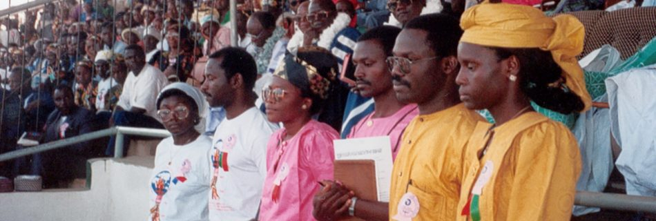 ECWA's First Official Foreign Missionaries Commissioned in December 1993