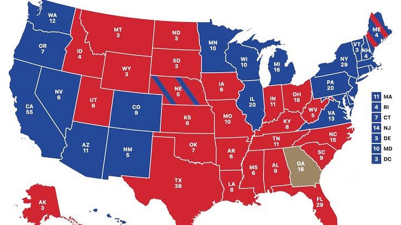 2020 Electoral Interactive Map
